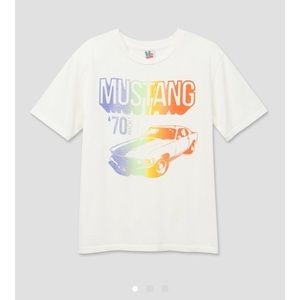 RETRO  70's FORD MUSTANG T-SHIRT